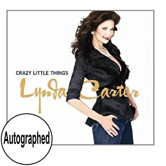 Lynda Carter AUTOGRAPHED CD- Crazy Little Things
