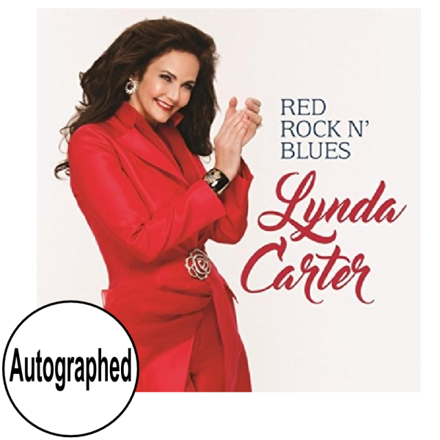 Lynda Carter AUTOGRAPHED CD- Red Rock'N Blues